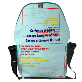 "Bag Messenger Rickshaw Large Zero Dim: 12"" H x 21"" Courier Bags"