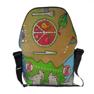Bag messenger vegan punt courier bag