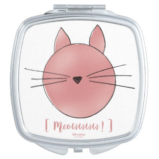 Bag mirror Calisto the Cat Compact Mirrors
