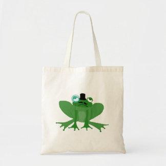 Bag Mr Posh Frog Tote Bag