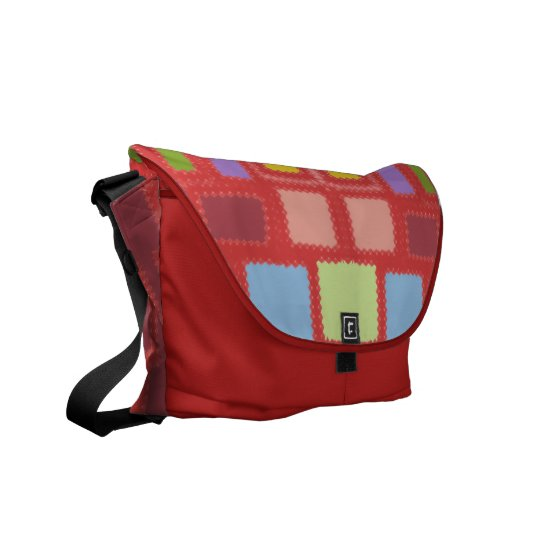 Bag of many colours messenger bags