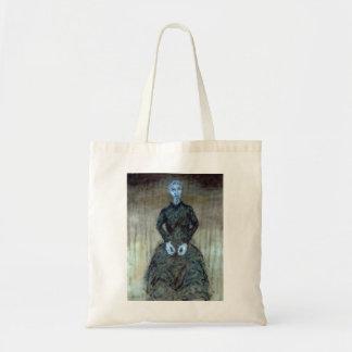 "Bag - Oil Painting ""Grandma"" by Matthew Felix Sun"