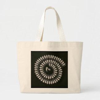 Bag printed with Folk Dance