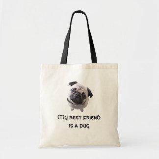 """Bag """"pug """""""