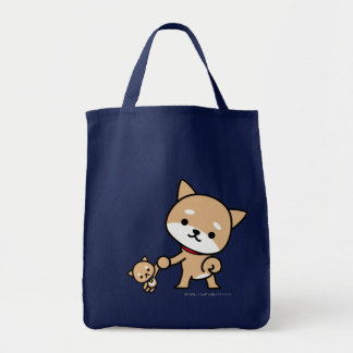 Bag - Puppy with a stuffed puppy