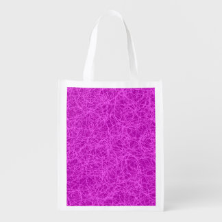 Bag Purple Network Grocery Bag