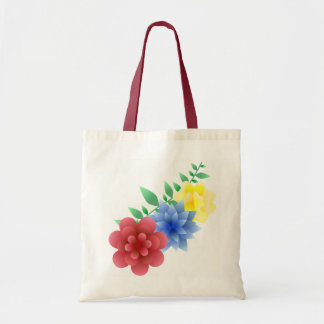 Bag purse flowers flowers