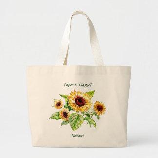 Bag, Sunflowers Large Tote Bag