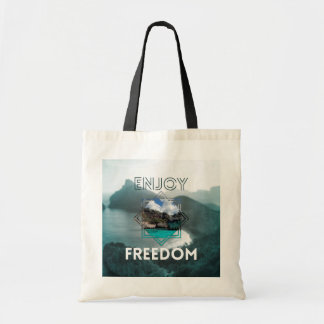 Bag totebag Enjoy freedom