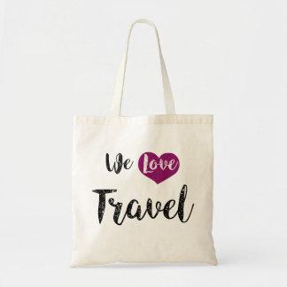 "Bag, ""We love Travel """