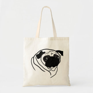 Bag with a picture of a pug