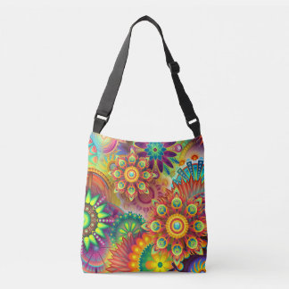 Bag with an awesome multi-colored print