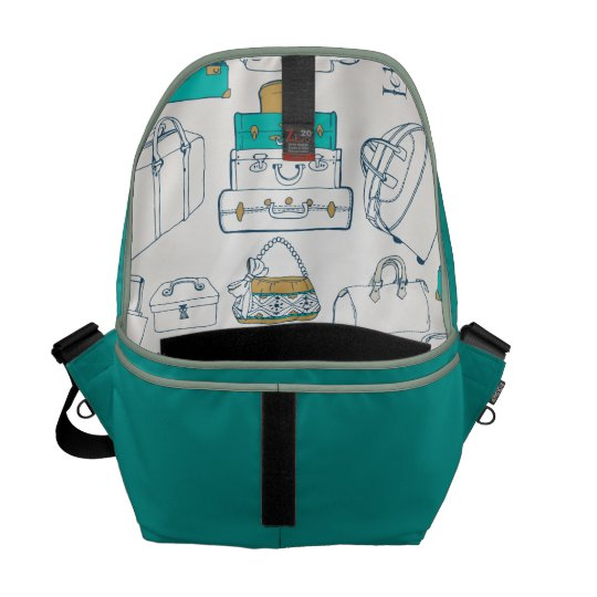 Bag with bag motive commuter bags