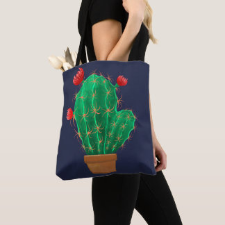Bag with cactus