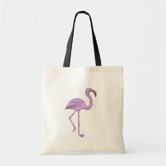 Bag with Pink Flamingo