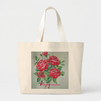 Bag with Red Roses