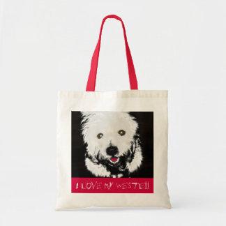 Bag with Westie Terrier