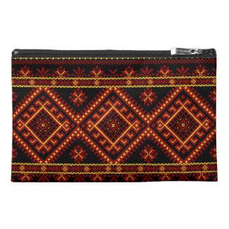 Bag Zippered Custom Ukrainian Embroidery Travel Accessories Bags