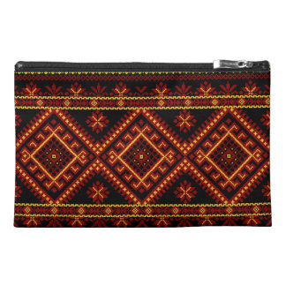 Bag Zippered Custom Ukrainian Embroidery Travel Accessories Bags