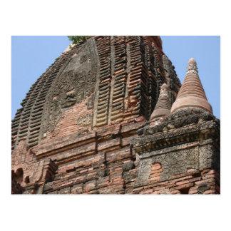 Bagan, Myanmar Postcard