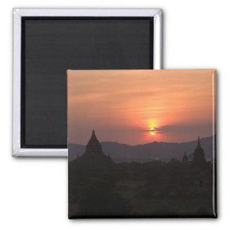 Bagan Sunset Magnet