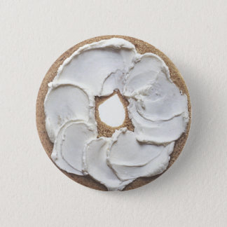 Bagel 2 Inch Round Button