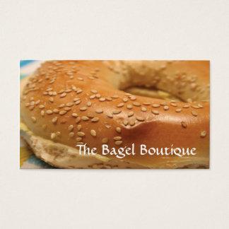 Bagel Business Card