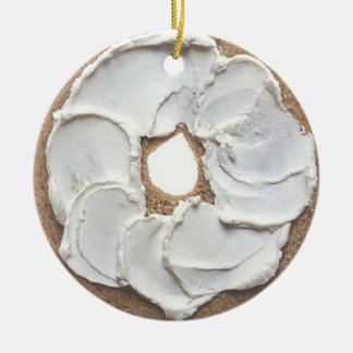 Bagel Ceramic Ornament