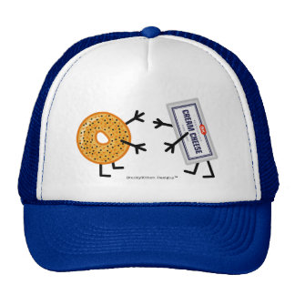 Bagel & Cream Cheese - Funny Foodie Friends Trucker Hat