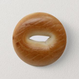 Bagel Pinback Button