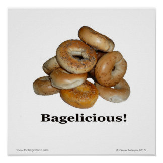 Bagelicious ! poster