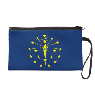 Bagettes Bag with Flag of Indiana, U.S.A.