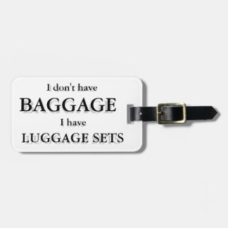 Baggage Luggage Tag Customizable