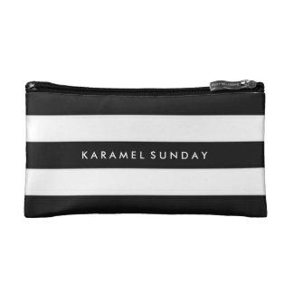 Baggette - KS Signature Nautical Black Cosmetic Bags