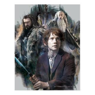 BAGGINS™, THORIN OAKENSHIELD™, & Gandalf Postcard