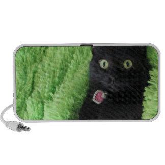 Bagheera the Black Cat Doodle by OrigAudio™ Laptop Speakers