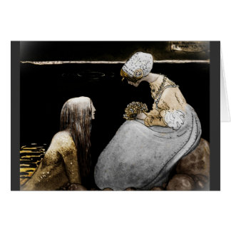 Bagneta and the Sea King Card