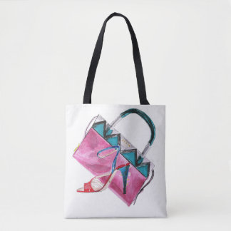 Bag'n'shoe Tote Bag