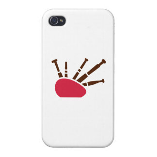 Bagpipe instrument case for iPhone 4