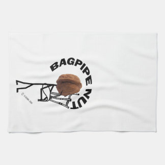 Bagpipe Nut Kitchen Towel