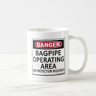 Bagpipe Operating Area Coffee Mug