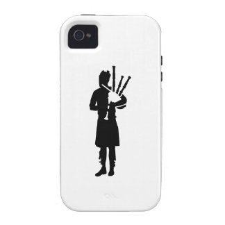 Bagpipe player case for the iPhone 4