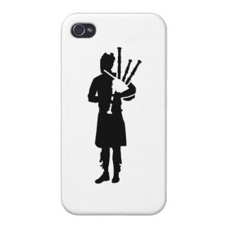 Bagpipe player iPhone 4 cover