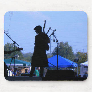 Bagpipe Player Mouse Pad