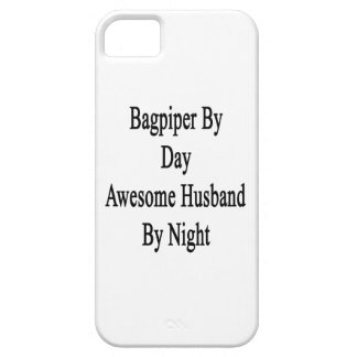 Bagpiper By Day Awesome Husband By Night iPhone 5 Covers