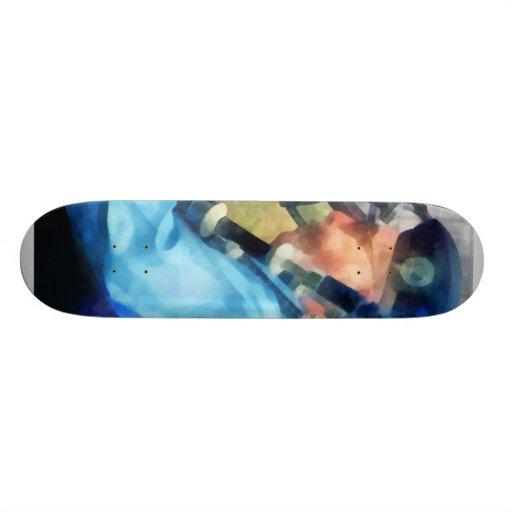 Bagpiper Closeup Custom Skateboard
