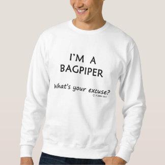 Bagpiper Excuse Sweatshirt
