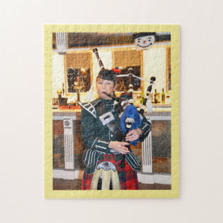 Bagpiper Jigsaw Puzzle