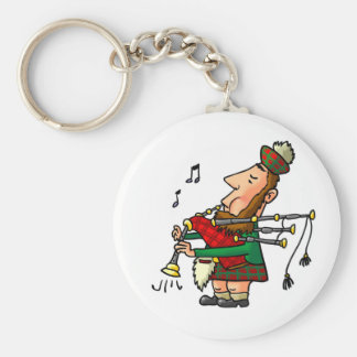 Bagpiper Keychain