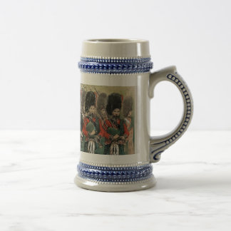 Bagpipers Beer Stein